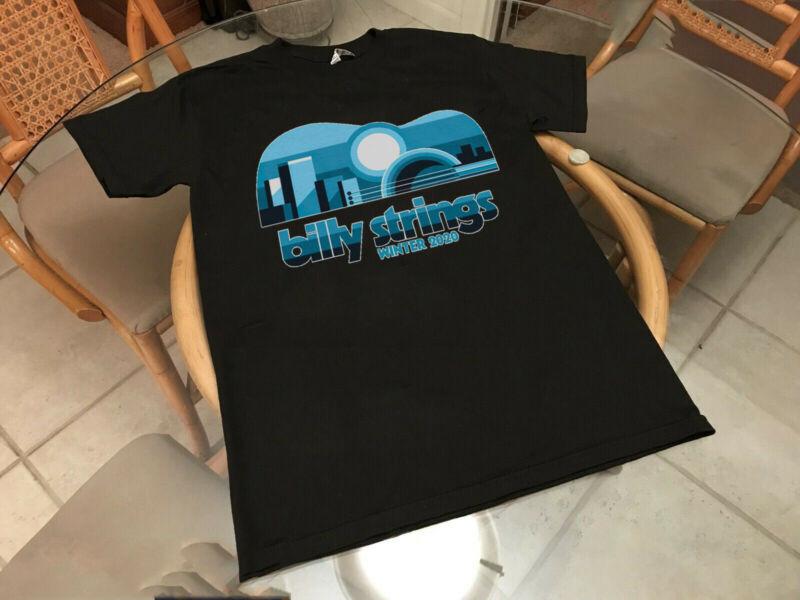 Billy Strings Tshirt Winter Tour 2020 Tee Shirt Regular Size S - 5XL