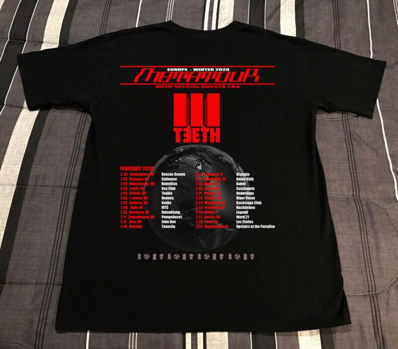 New 3Teeth Sale World Tour 2020 Special T-Shirt Feb Gildan Size USA S-3XL S.sty