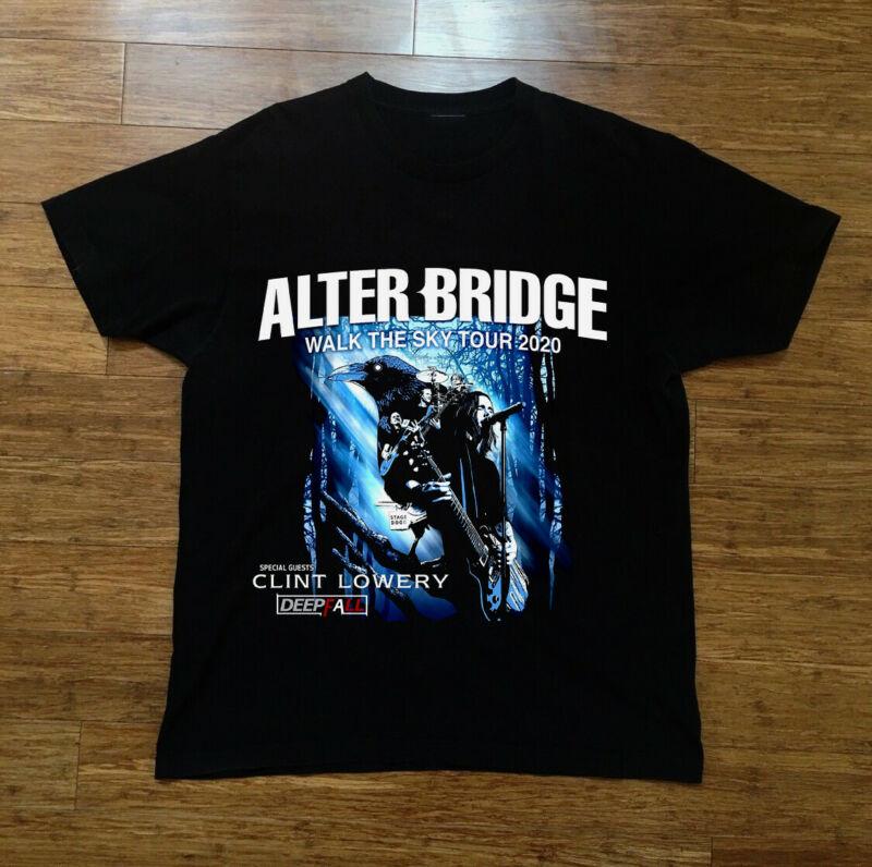 alter bridge walk the sky tour 2020 gildan black new t shirt