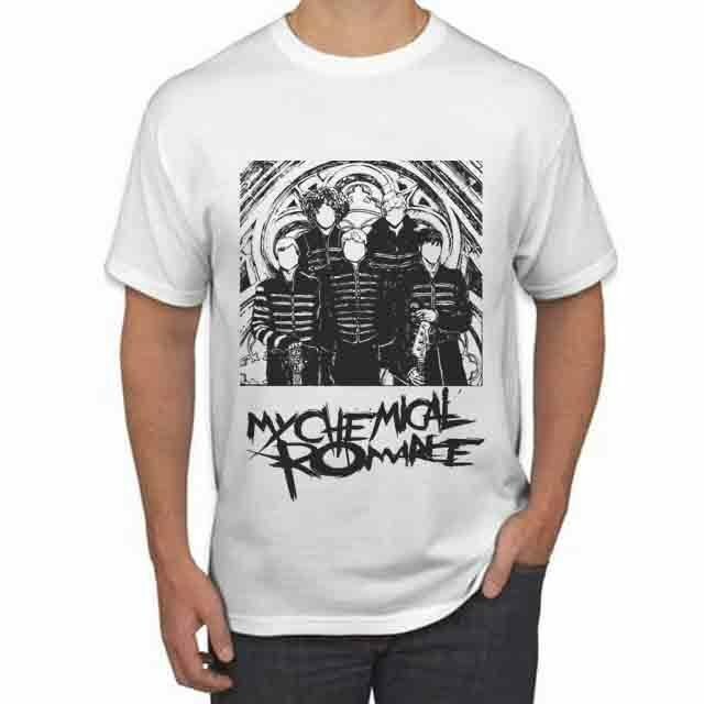 My Chemical Romance Tour 2020 TSHIRT New Mens White T-Shirt Tee Size S to 3XL