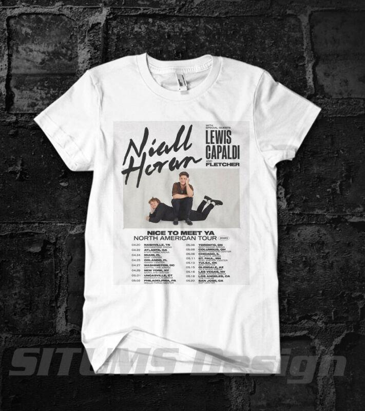 NIALL HORAN Nice To Meet Ya North American Tour 2020 T-Shirt