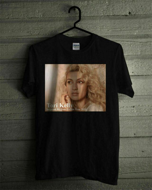 Tori Kelly Inspired ByTrue Events Tour 2020 Logo On Unissex Black T Shirt S-3XL