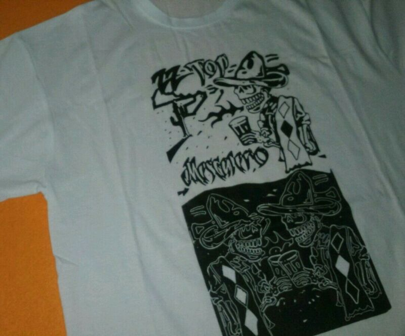 ZZ TOP - 2x1 T-shirts Camisetas rare tee limited NO dvd tour zztop new rak 2020