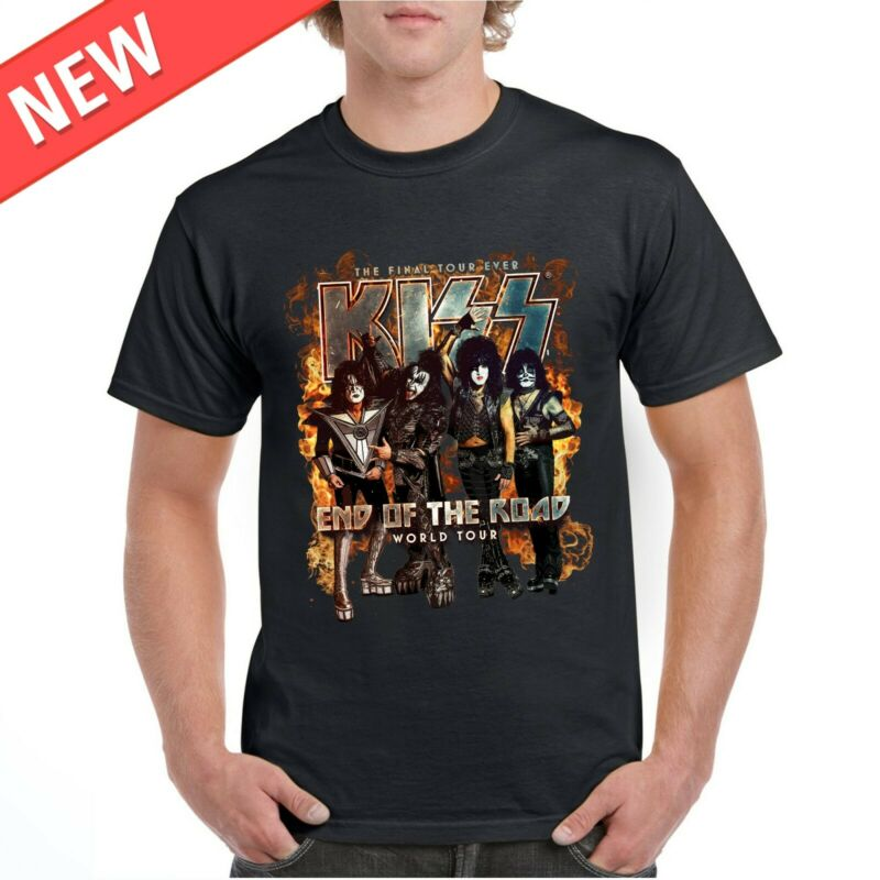 KISS T-shirt End Of The Road World Tour 2020 One Front Side UPDATE !
