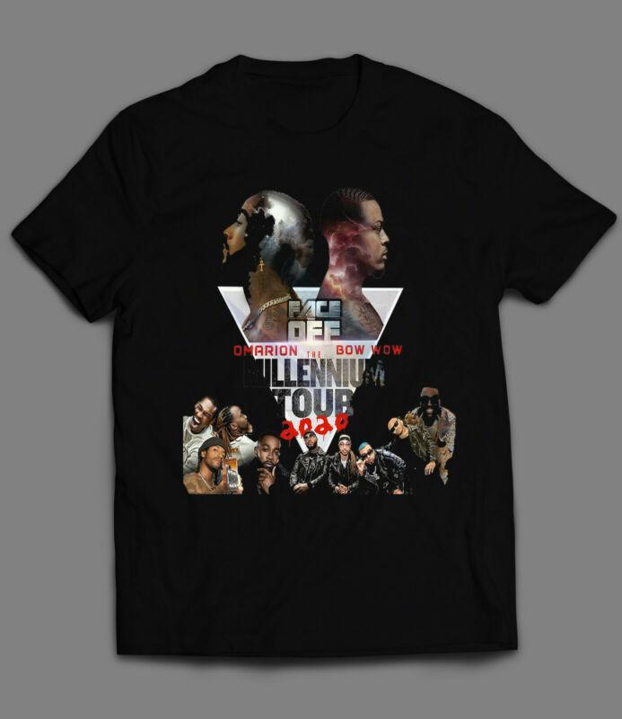 New Limited The Millenium 2020 B2k Tour Rare 2020 Merch Hip Hop T-shirt S-4xl