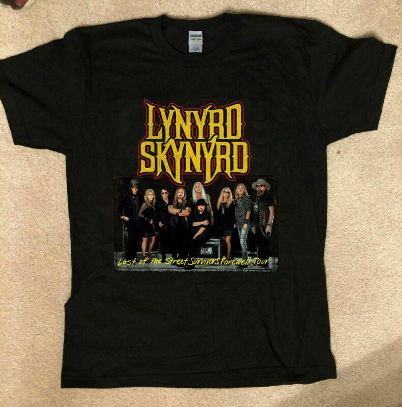 New Popular Lynyrd Skynyrd 2020 Tour Tshirt Size S to XL