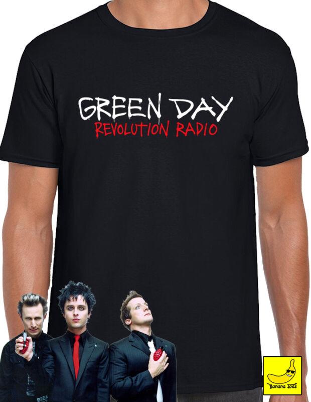 Green Day Revolution Radio T-Shirt Tour Hella Mega Tour American Idiot Tee 2020