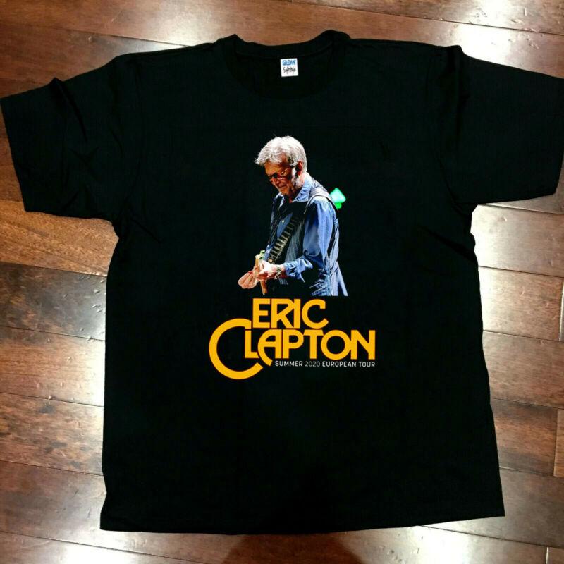 Eric Clapton Tour 2020 T-Shirt Size S to XL