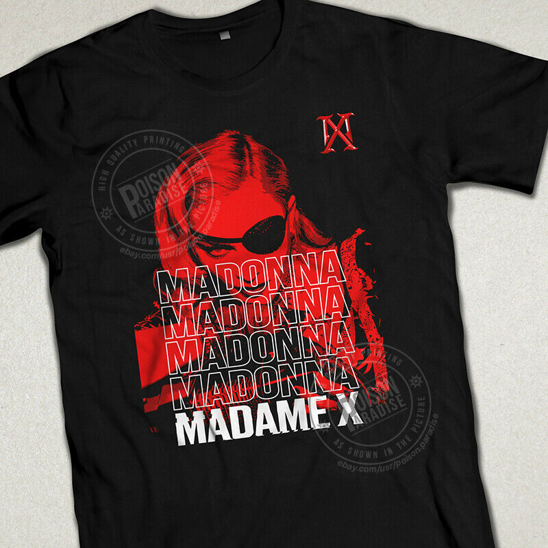 "Madonna ""madame X Tour"" Unisex T-shirt. New 2019 2020 Inspired"