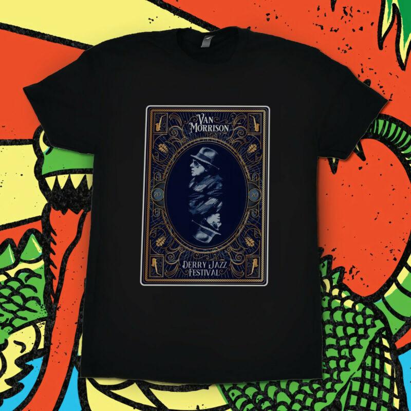Van Morrison Derry Jazz Festival Concert Band Tour 2020 exclusive T Shirt GLDAN