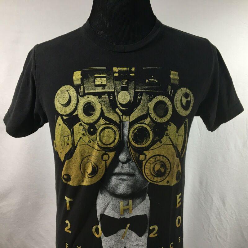 Justin Timberlake Adult Medium Black T Shirt 2020 Experience Concert Tour Tee