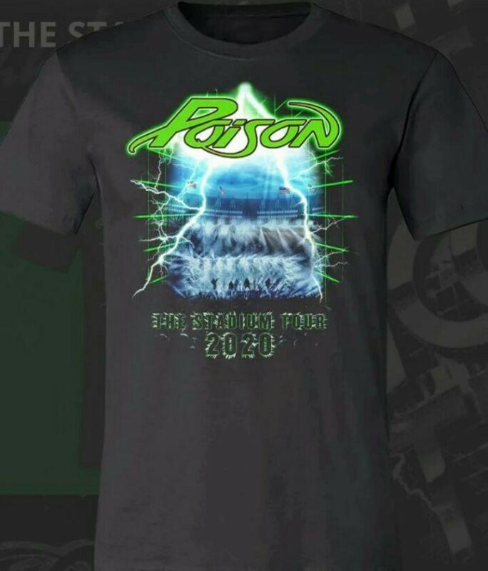 Poison Official Licensed T-shirt Mens Xl 2020 The Stadium Tour - Bret Michaels