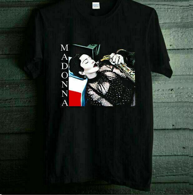 MADONNA MADAME X TOUR 2019 - 2020 Logo On Cotton Black Men S-234XL T-shirt L1894