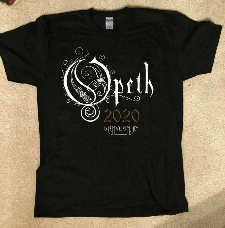 Opeth Tour 2020 North American Tour T-SHIRT Size S to XL