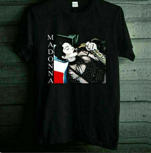 MADONNA MADAME X TOUR 2019 - 2020 Logo On Cotton Black Men S-234XL T-shirt V1243