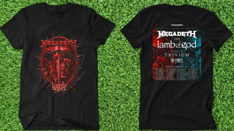 NEW MegaDeth LambOfGod Trivium InFlames North America Tour 2020 T shirt TICKET /NEW-MegaDeth-LambOfGod-Trivium-InFlames-North-America-Tour-254510595989.html