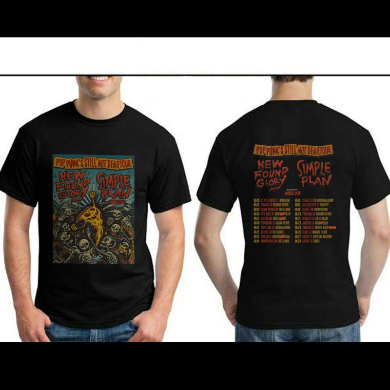 New Found Glory Simple Plan Pop Punks Still Not Dead Tour 2020 T Shirt S-3XL