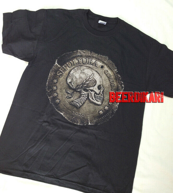SEPULTURA Quadra Shirt 2020. Heavy metal Band Concert Tour tee Shirt. GILDAN