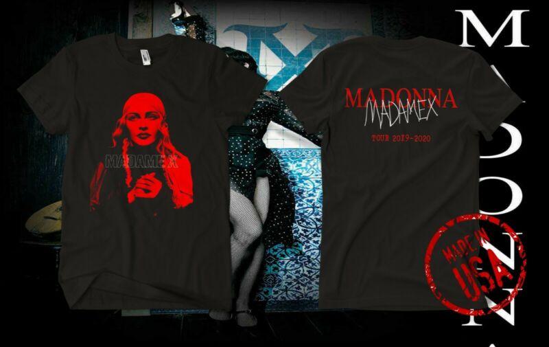 MADONNA MADAME X TOUR UNISEX T-SHIRT. 2019 2020 usa size S-5XL