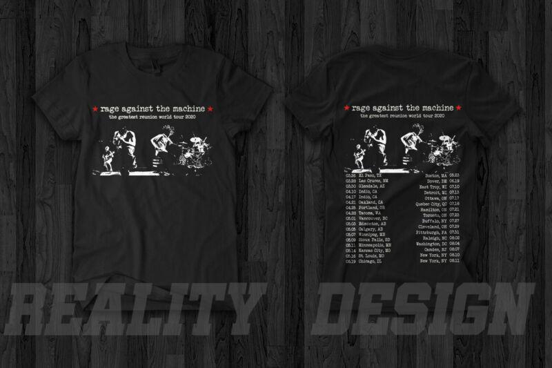 Rage Against the Machine The Greatest Reunion World Tour 2020 T-Shirt Merch Rock