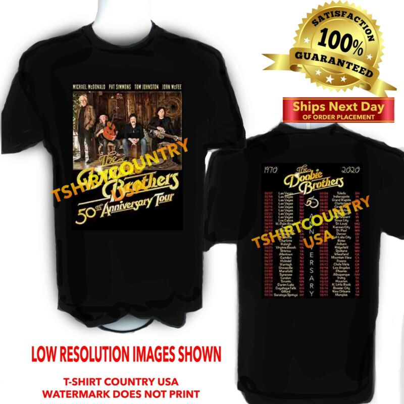 The Doobie Brothers 2020 Concert Tour S-6X + Tall Sizes