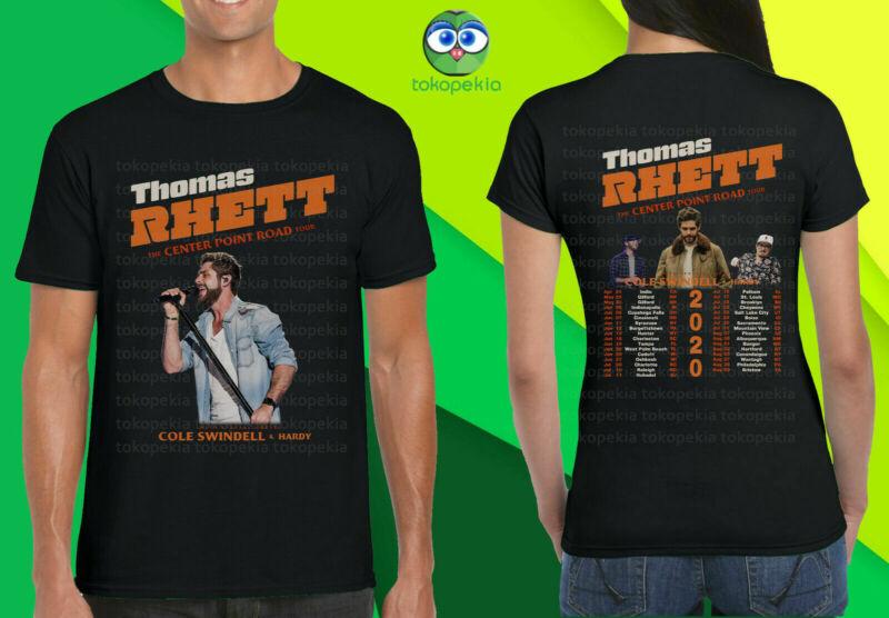 New 899-Thomas Rhett The Center Point Road Tour 2020 T Shirt Size S-5XL