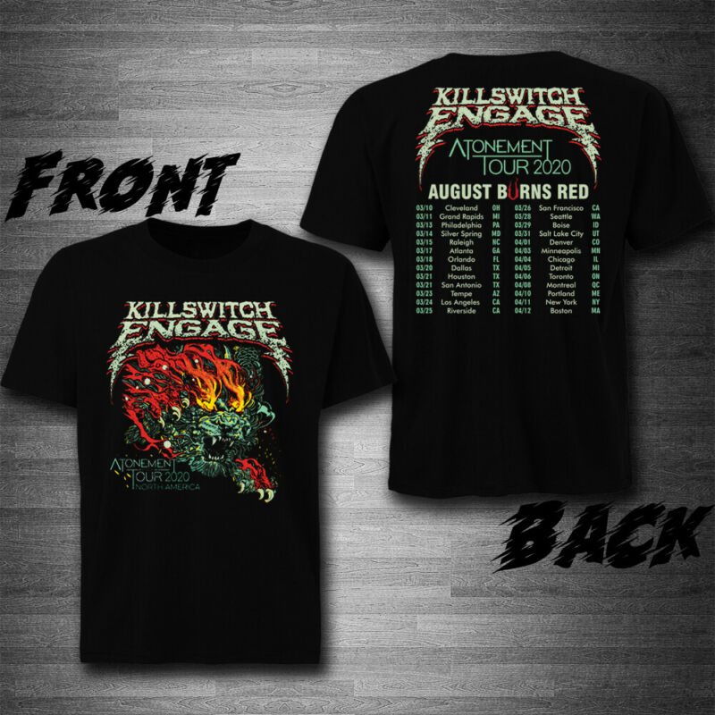 Killswitch Engage and August Burns Red Tour 2020 T-Shirt Tee Exclusive