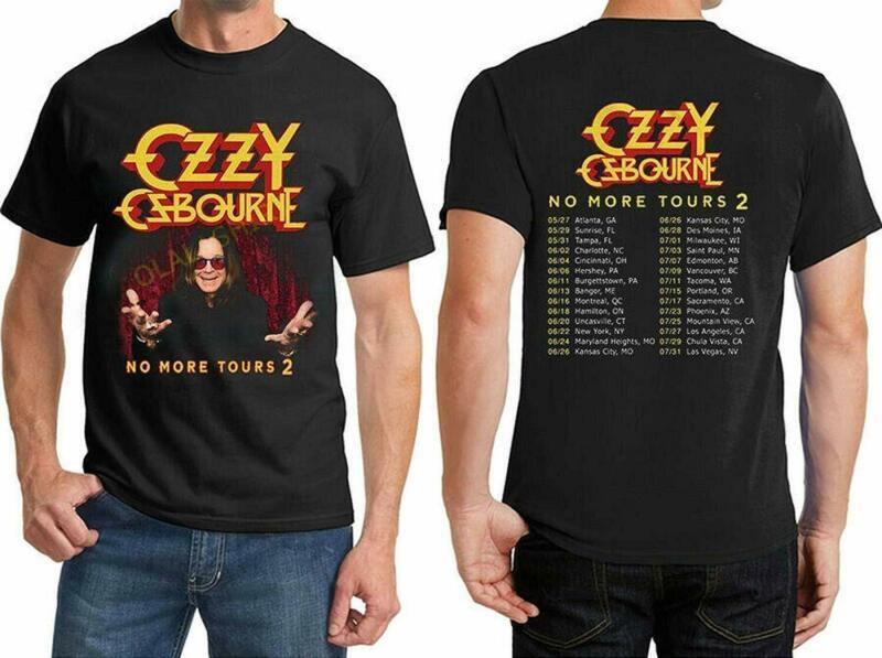 Ozzyy Osbourne No-More-2020 Tour-Casual-Unisex T-Shirt S-3XL