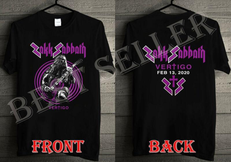 Zakk Sabbath Vertigo Tour FEB 13  2020 T-shirt /Zakk-Sabbath-Vertigo-Tour-FEB-13-2020-T-shirt-174186793638.html