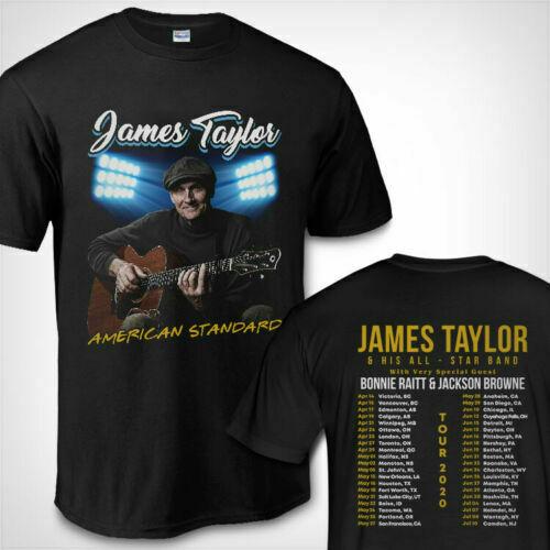 James Taylor Tour Dates 2020 American Standard T-Shirt S-5XL