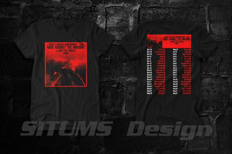 Rage Against The Machine Public Service Announcement Tour 2020 Shirt Size S-3XL