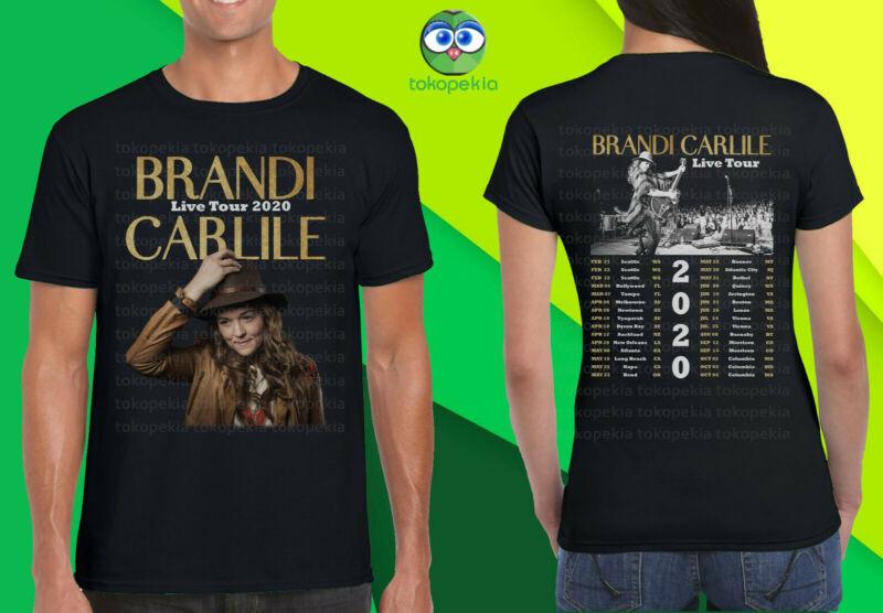 Brandi Carlile Live Tour 2020 Black Mens Womens Tshirt