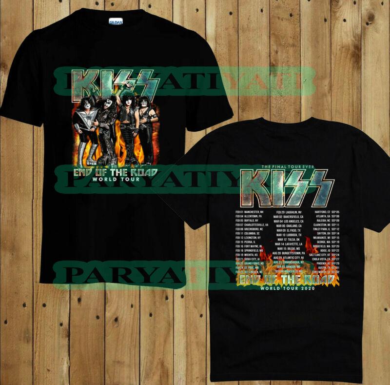 Kiss Band Tour END OF THE ROAD 2020 TOUR DATES T-shirt shirt