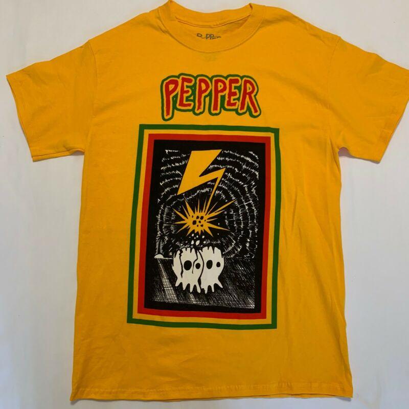 PEPPER Mens Medium Tour 2020 Shirt UniSex Hawaii Reggae Dub Punk Rock Band