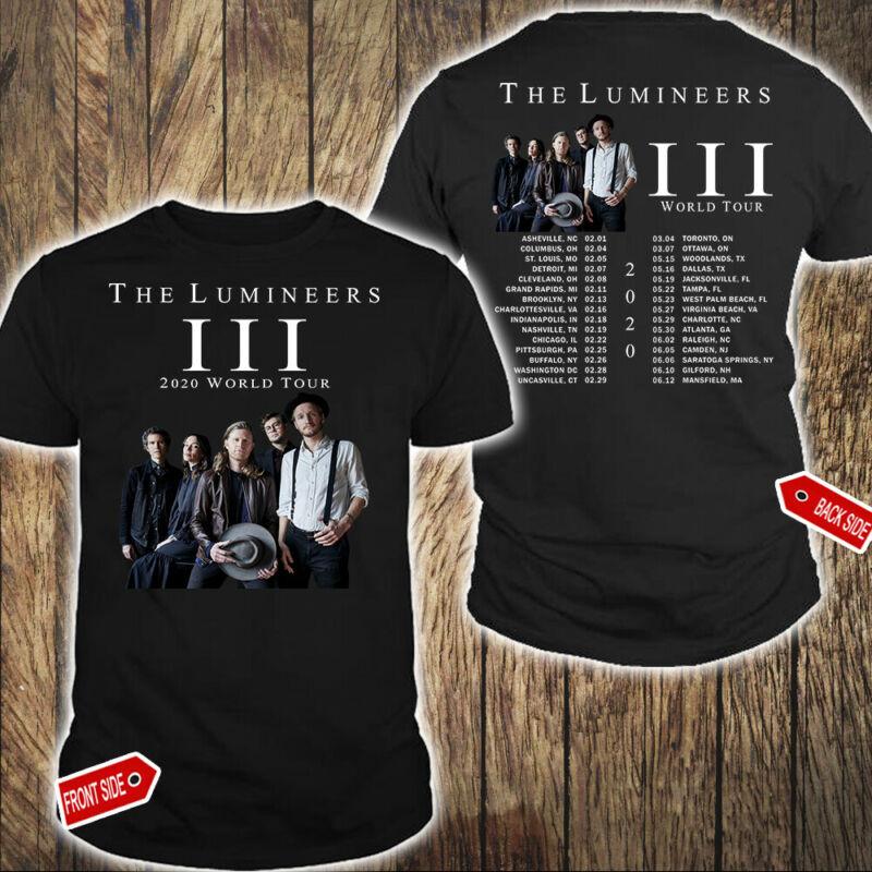 The Lumineers III 2020 World Tour T-Shirt Hot Gift