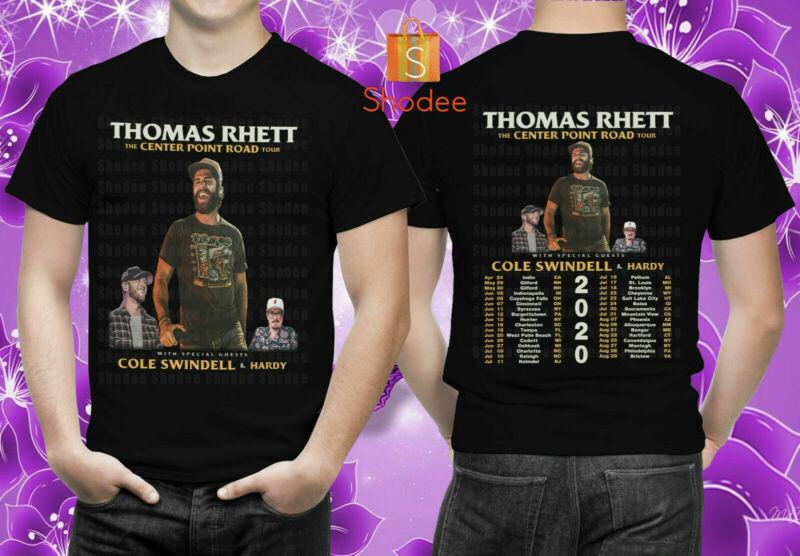 Thomas Rhett The Center Point Road Tour 2020 Merch Concert T-Shirt Unisex S-5XL