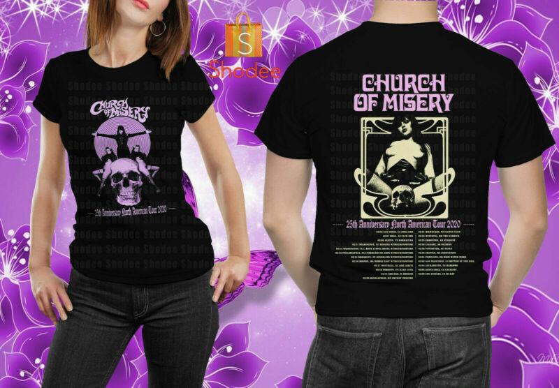 Church Of Misery 25th Anniversary North American Tour 2020 Unisex T-Shirt