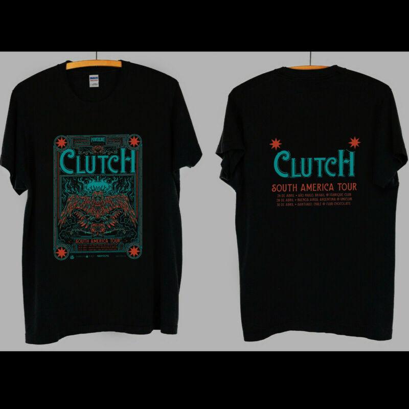 Clutch Powerline event Concert Band Tour South America 2020 Shirt - S-2XL