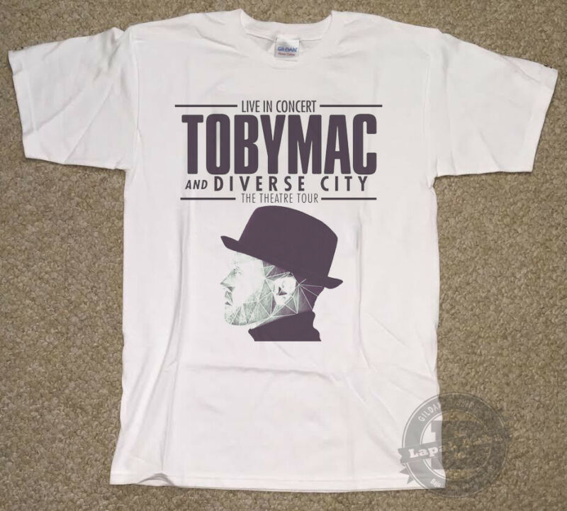 Rare Toby Mac HITS DEEP Tour 2020 w Tour Dates T Shirt