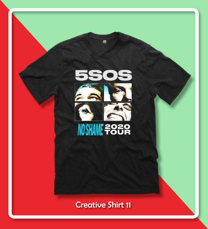 New 5SOS NO SHAME TOUR 2020 Five Seconds of Summer popular T-Shirt Gildan S-2XL