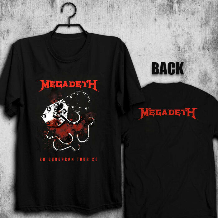 Megadeth 20 European tour 2020 T shirt