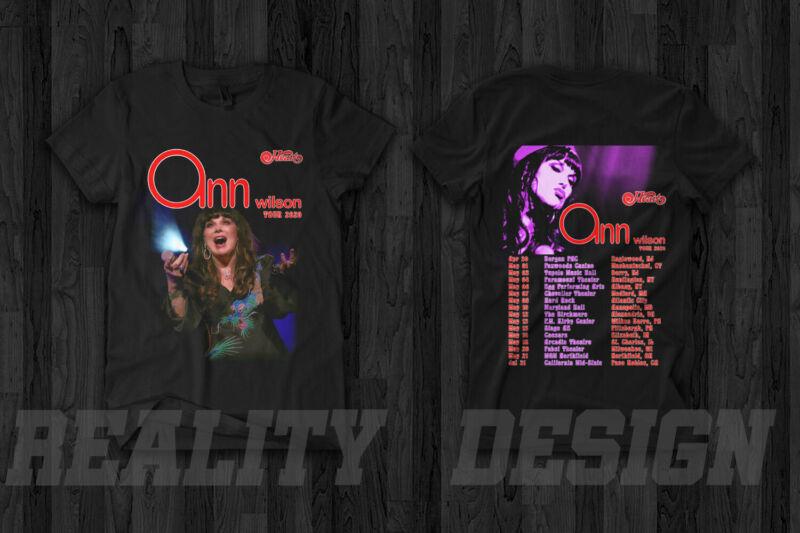 Ann Wilson Of Heart Band Tour 2020 T-Shirt Joan Jett Love Music Concert