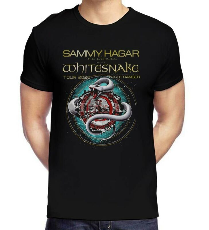 Sammy Hagar & The Circle with Whitesnake Tour 2020 T-Shirt Unisex shirt S-2XL