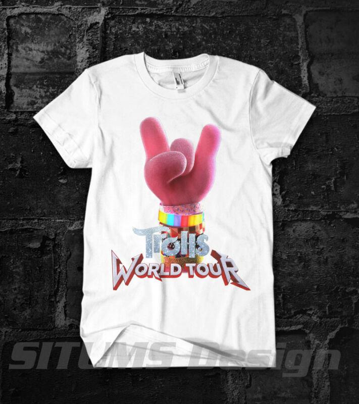 Trolls World Tour Movie 2020 Justin Timberleke Music Concert T-Shirt