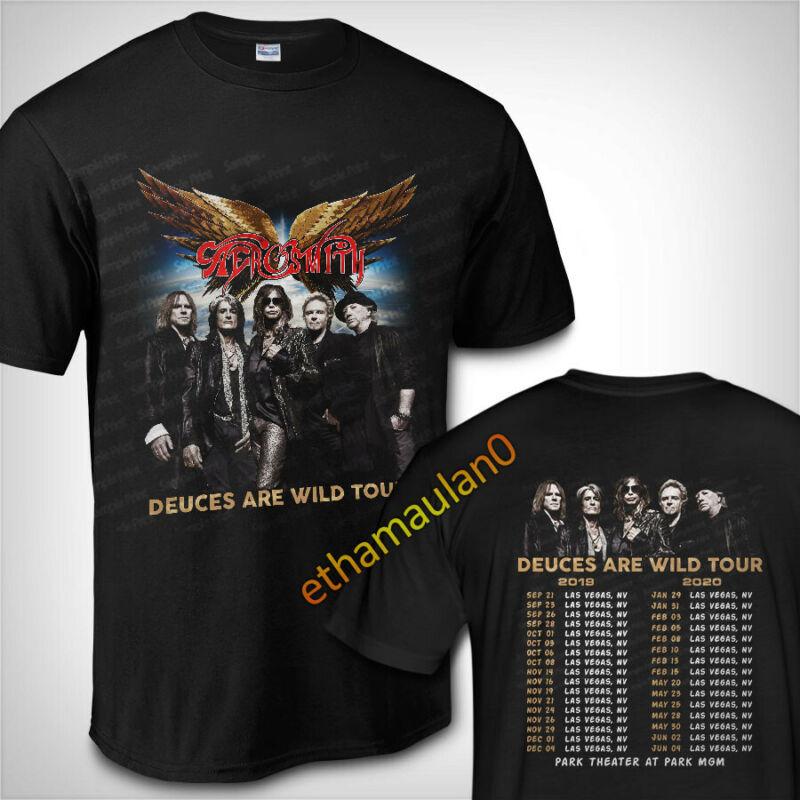 Aerosmith Deuces Are Wild Tour 2019 - 2020 T shirt S to 3XL MENS