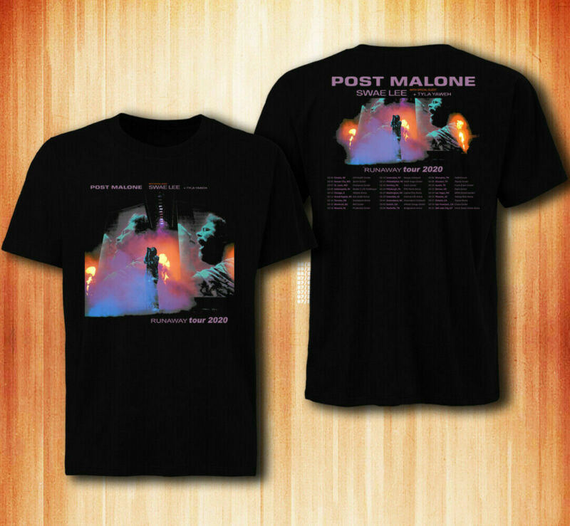 POST MALONE Runaway Tour 2020 T-shirt tee all size