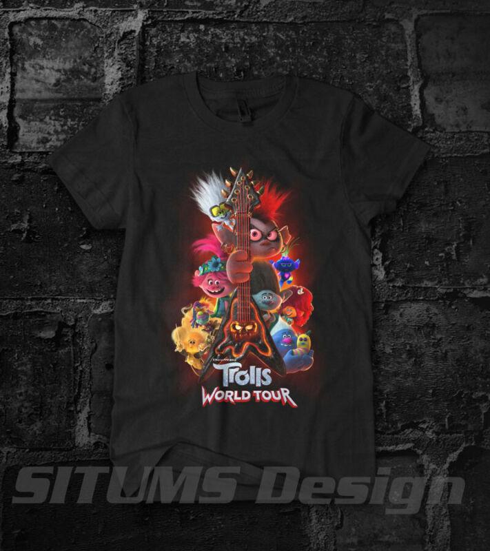 Trolls World Tour Movie 2020 Justin Timberleke T-Shirt New