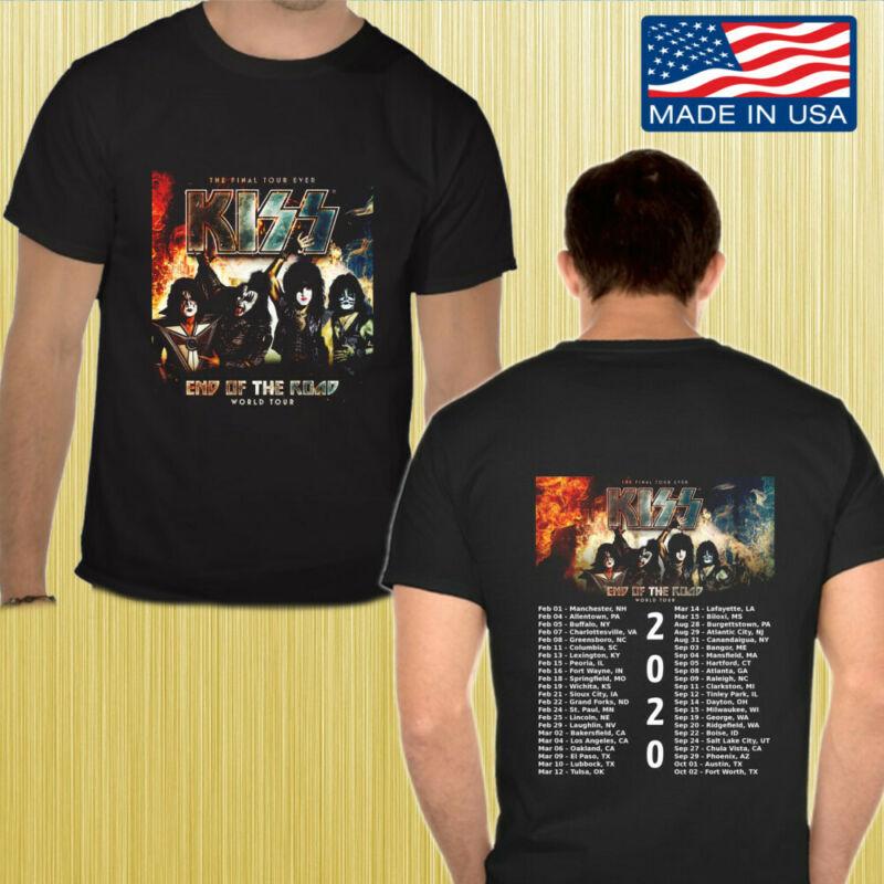 KISS End Of The Road World Tour 2020 Gildan Tee Shirt