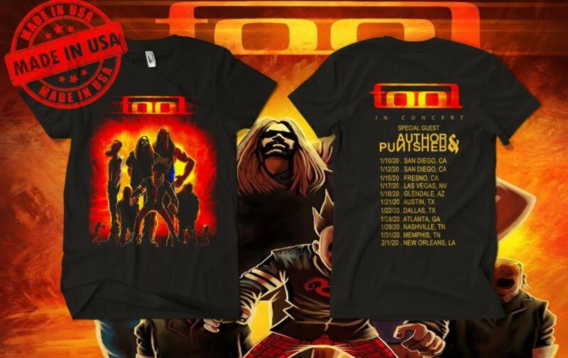 NEW TOOL TOUR DATES 2020 black shirt usa size S-5XL /NEW-TOOL-TOUR-DATES-2020black-shirt-usa-size-362885771377.html