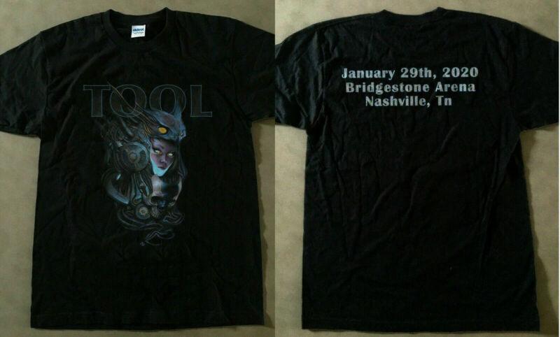 TOOL 2020 USA Tour -2020 - Bridgestone Arena Nashville  New Poster t-shirt /TOOL-2020-USA-Tour-2020-Bridgestone-Arena-193325437791.html